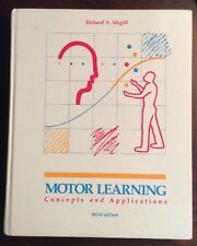 Motor Learning Concepts and Applications(1989, Hardback) Magill PreOwnedBook.com