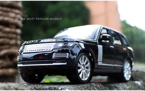Land Rover Range Rover 1:24 Diecast Model Car Toy Collection Sound&Light Gift