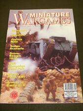 MINIATURE WARGAMES - JUSTICE MILLS - FEB 1998 # 177