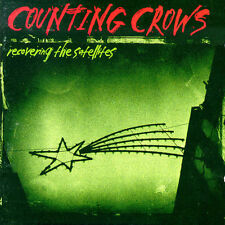 Counting Crows - Recovering the Satellites w/ Silkscreen Promo Stamp (Promo CD)
