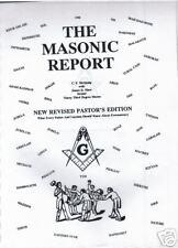 MASONIC REPORT/ILLUMINATI/NEW WORLD ORDER/CONSPIRACY!?/Freemasonry/Lucifer