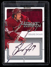 2004-05 ITG ULTIMATE AUTOGRAPH SHANE DOAN PHONIX COYOTES /135 AUTO SIGNED
