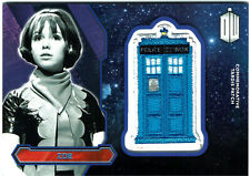 Doctor Who Topps 2015 Tardis Patch Card PURPLE Parallel Zoe #41/99
