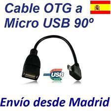 Cable 90º USB Host OTG Samsung Galaxy S2 SII S3 SIII i9300 Tablet Sony Xperia