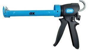 OX Dual Trust Caulking Gun - 310ml - OX-P045430 - Tilers Tiling Tools