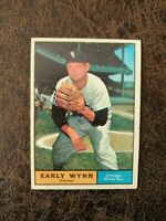 (1) 1961 TOPPS Baseball Early Wynn #455 - Chicago White Sox Legend