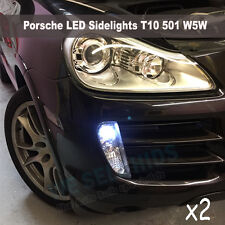 PORSCHE CAYENNE  LED SIDELIGHT UPGRADE BULBS SMD ERROR FREE CANBUS W5W T10 501 8