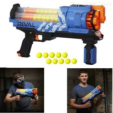 Nerf Rival Artemis XVII-3000 BLASTER, Rotating Barrel 30 Rounds NERF GUN, Blue