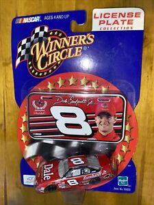 Dale Earnhardt Jr Winners Circle License Plate Budweiser 1/64 Diecast