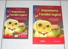 Pc Cd Rom + Libro IMPARIAMO L'ANALISI LOGICA Anna Rita Vizzari Erickson 2008
