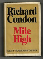 Mile High, Richard Condon, Dial Press Hardcover, 1969, 1st prt, !st American edt