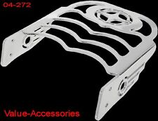 Stylized Luggage Rack, Yamaha 650 & 1100 VStar Silverado #04-272