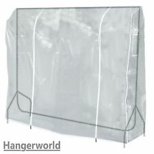 Hangerworld Housse de protection transparente pour Portant...