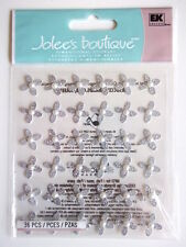 JOLEE'S BOUTIQUE 3D STICKERS - WEDDING GEM FLOWERS