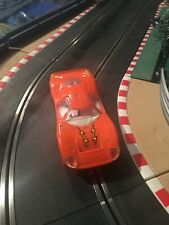 1/32 SCALEXTRIC C 15 FORD MIRAGE ORANGE INTERIEUR BLANC RARE COLOR MADE IN FRANC