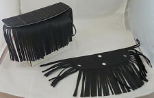 Motorcycle Floor Board Fringe for Harley Davidson 6 Inch Fringe