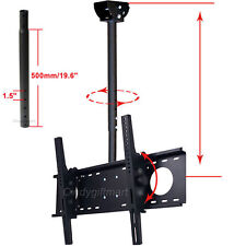 "Ceiling TV Mount Tilt Bracket 39"" 40 42 46 50 55 60"" LED LCD+Extendable Pole CXH"