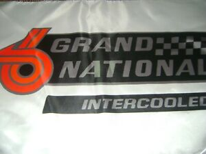"Buick GNX TURBO Logo 20x30"" Flag Banner Garage Racing Shop Deco Grand National W"