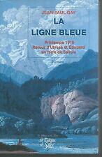 La ligne bleue.Jean-Paul GAY.Fontaine de Siloé G007