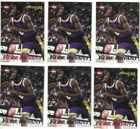 1998-99 Collector's Edge Kobe Bryant Impulse Lot x 6 + + Lakers