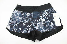 Layer 8 NWT The Pace Printed Base Layer Short Rich Black & White Pattern Sz S