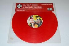 Baby Doc~La Batteria (The Drum Track)~Translucent Red Vinyl~UK IMPORT~FAST SHIP