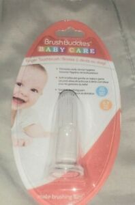 Brush buddies baby care- finger toothbrush