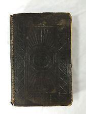 1893 Antique Collectible Danish Bible Bibelen Den Hellige Skrift Boger B15