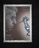 francobollo repubblica italiana Centenario della nascita di Eugenio Montale 1996