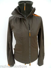 Ladies SUPERDRY Superb! OLIVE GREEN WINDCHEATER JACKET - Size SMALL UK 8 (LSDJG)