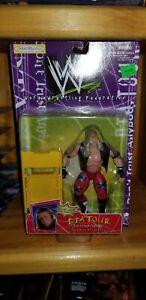 WWF JAKKS SHAWN MICHAELS DTA TOUR SERIES WRESTLING FIGURE BCA WWE HBK DX MOC LOT
