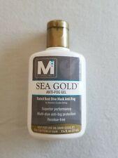McNett Sea Gold Anti-Fog Gel Scuba Dive Snorkel Mask Cleaner 1 1/4 oz. Bottle