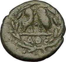ATHENS Attica Greece 322BC Authentic Ancient Greek Coin ATHENA TWO OWLS i54060
