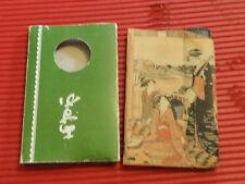 VINTAGE JAPANESE LADIES COMPACT CASE MIRROR COMB ZEMLIYA 1970's