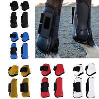 Horse/Pony Advanced Pro Tec Jumping Tendon & Fetlock Boots Set Equine Sports