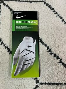 Nike Tour Classic Golf Glove Left Size S 22 cm Men's White New Leather