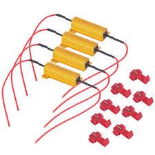 Car 4Pcs 50W Load Resistor 6ohm Fix LED Bulb Fast Hyper Flash Turn Signal DE