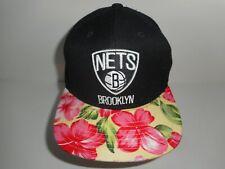 Adidas Brooklyn Nets Floral Snapback Cap Hat