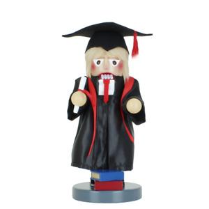 New in Box - Steinbach Chubby/Junior Size Graduate- Christmas Nutcracker