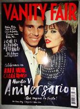 Vanity Fair Spanish 10/2013 Rafael Nadal Clara Alonso Andres Velencoso Segura