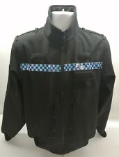 More details for genuine ex police soft shell jacket grade 1 breathable unisex windproof security