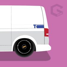 VW T5 Rear Side Decals In any colour