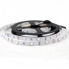 NEW 5M 12V 5050 RGB 150 leds Flexible Strips 30leds/M Non-waterproof Lights