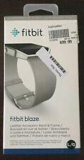 Fitbit Blaze Leather Band Large Mist Grey