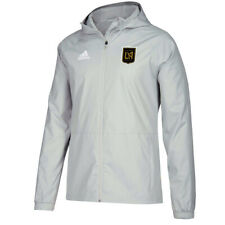 adidas Lafc 2019 Full  00004000 Zip Rain Jacket - Grey