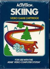 Skiing Atari 2600 New Sealed Retail Box