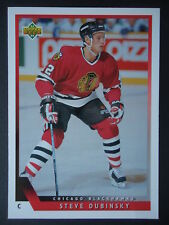 NHL 477 Steve Dubinsky Chicago Blackhawks Upper Deck 1993/94
