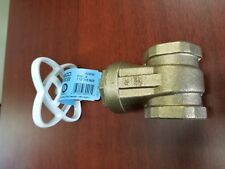 LOT of TWO  NIBCO T-113LF  Gate Valve Lead Free 1/2 IN FIP