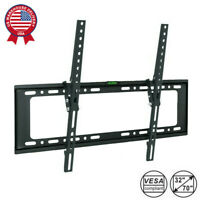 "Fixed Slim TV Wall Mount Bracket For 32""-70"" Inch Flat Screen LED LCD PLASMA"