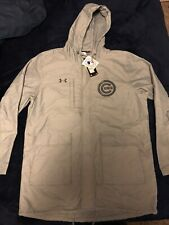 Chicago Cubs Under Armour Storm1 Gray Jacket Men's Size Large
